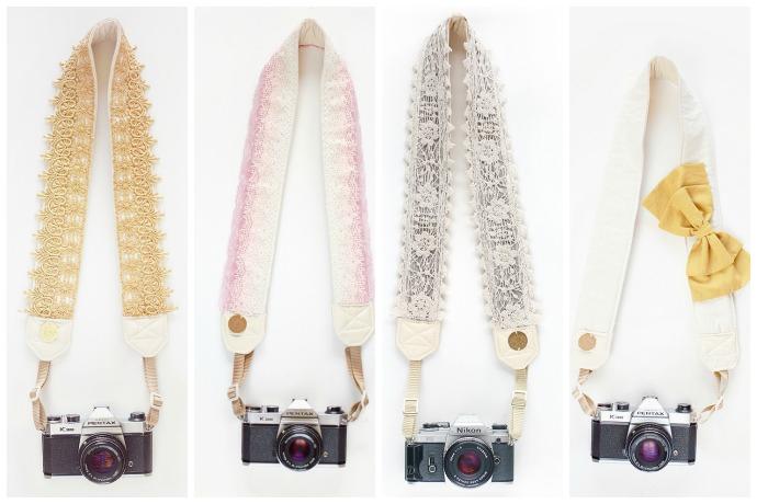 A stylish camera strap? You heard us right.
