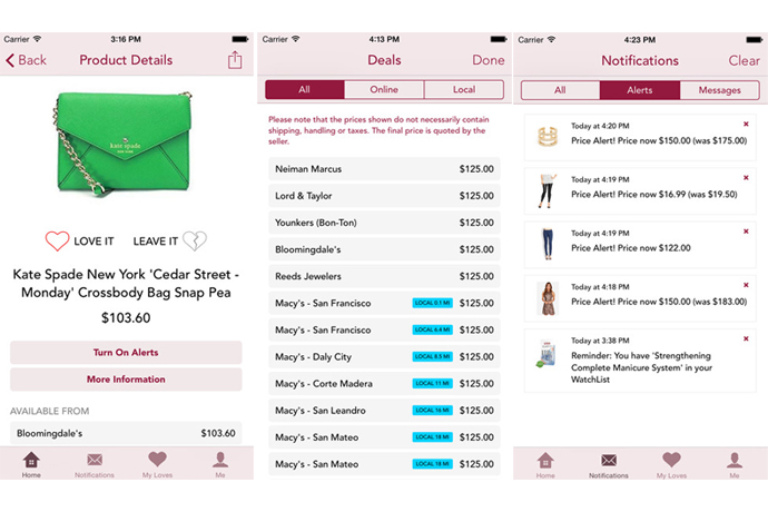 Get the best price with a little help from the ShopAdvisor app