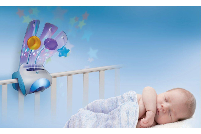 A mobile that gets baby to sleep…then back to sleep? Yes! Finally!