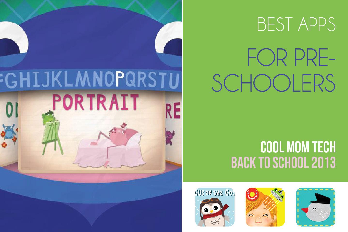 The best preschool apps: Back to School Tech Guide 2013