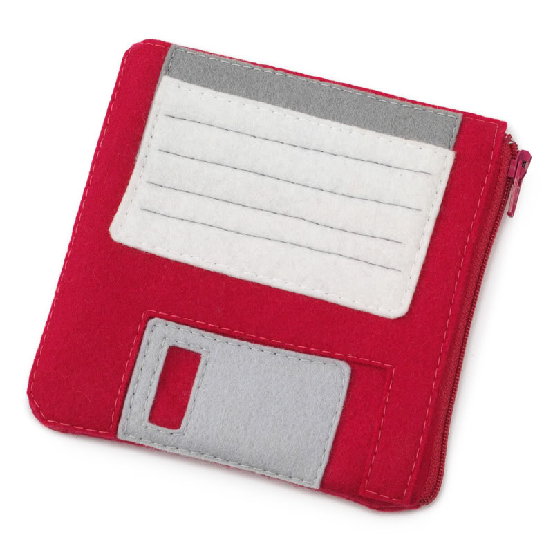 A dope 90's redux with the floppy disk pouch