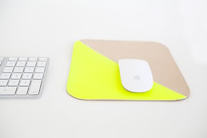 Mousepads fit for a mouse king. Or just someone who likes really pretty things on her desk.