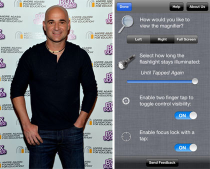 Oh Appy Day! Featuring Andre Agassi's favorite iPhone app
