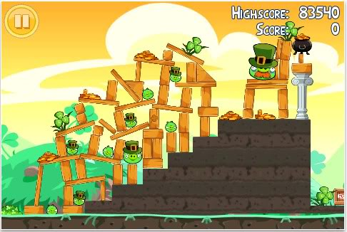 Angry Birds get lucky for St. Patrick's Day. Or really, we do.