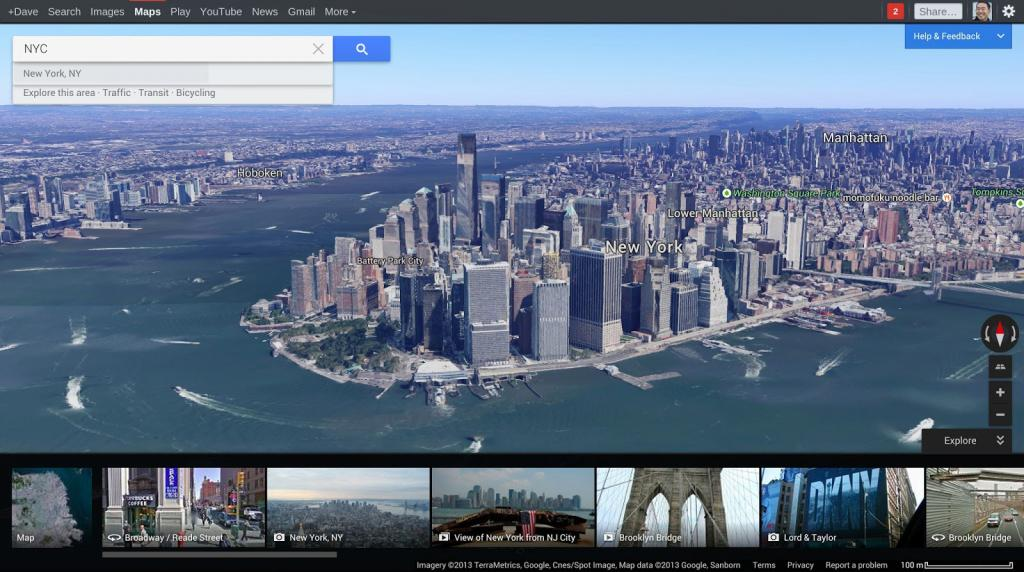 A whole world to explore with the new and improved Google Maps