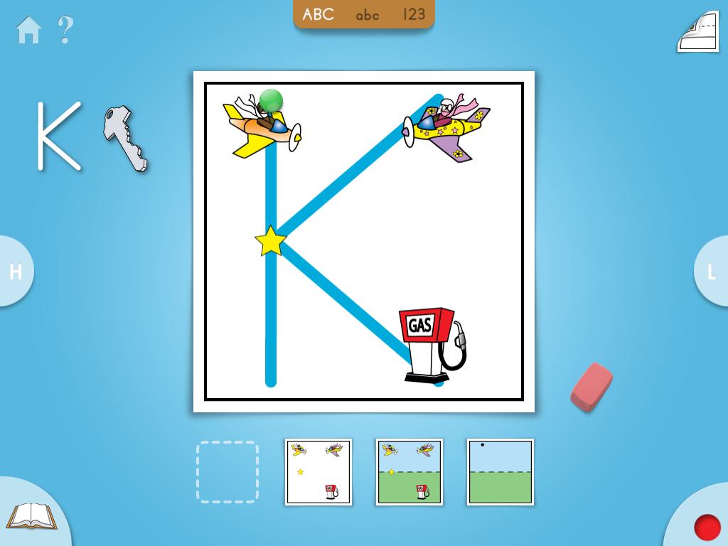 StartDot: A handwriting app for children