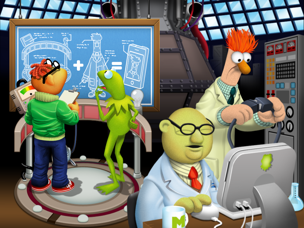 My Muppets Show app: It's time to play the music. For real.