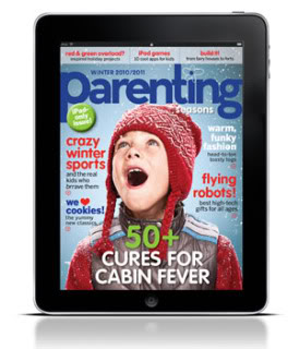 Parenting Magazine goes all 2.0 with an iPad mag