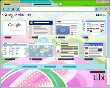 10 chic designer themes for Google Chrome
