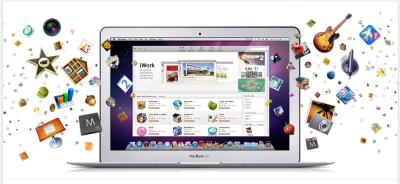 The Apple app store is open! Yippee!