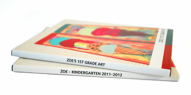 The best gift books from your kids are the ones they made themselves. Thanks Artkive.