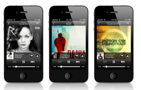 One more reason to go Spotify: Radio on the go