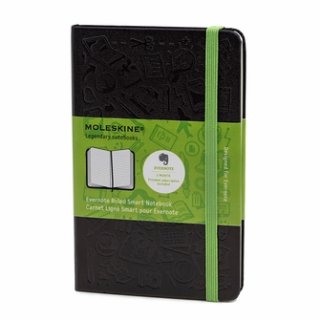 The new Evernote smart notebook from Moleskine – Changing note taking forever