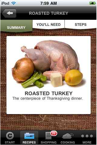 The best Thanksgiving turkey? There's an app (or two) for that