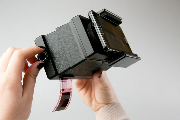 Piquing Our Geek: The Lomography Smartphone Film Scanner