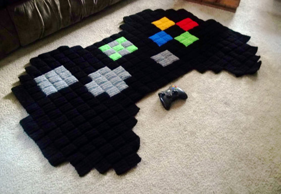 you can't lose with these cool video-game rugs | cool mom tech