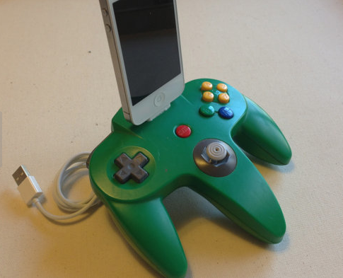 Upcycled game consoles: The ultimate way for gamer geeks to charge up, and not with a star.