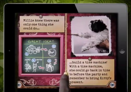 Millie and Dogs and Dinos mean an adorable new ebook for kids