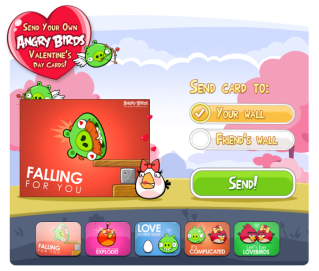 I love you more than Angry Birds