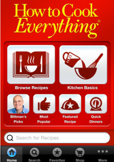How to Cook Everything, right from your iPad