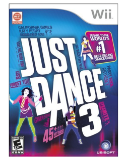 Throw your hands up in the air for Just Dance 3