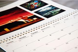 A calendar starring you