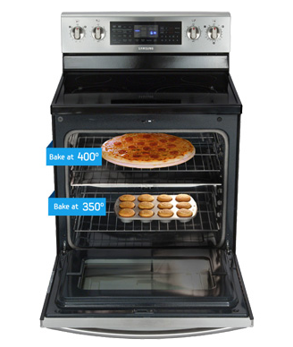 Samsung Flex Duo Oven – It's two, two, two ovens in one.