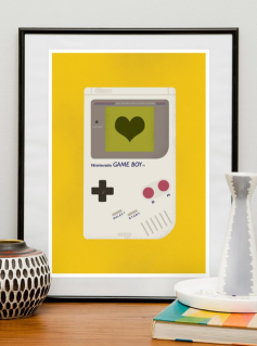 Nursery decor for the gaming geek