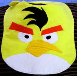 Forget Angry Birds. Try Angry bibs.