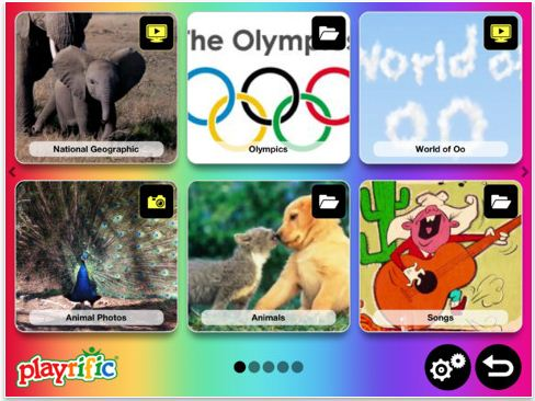 Playrific means safe web content for your kids. You know, because you choose it.