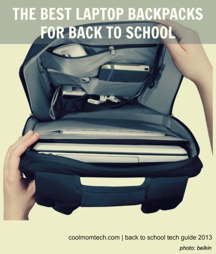 Best laptop backpacks: Back to School Tech Guide 2013