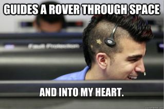 NASA's Mohawk Guy helps us crush on science.