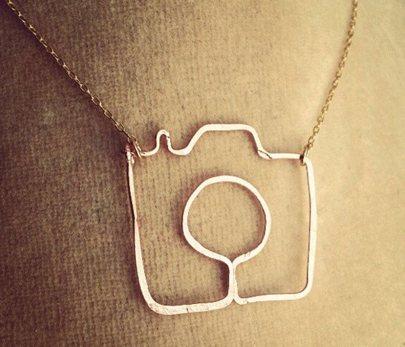 Wearing a camera around your neck: It's not just for tourists