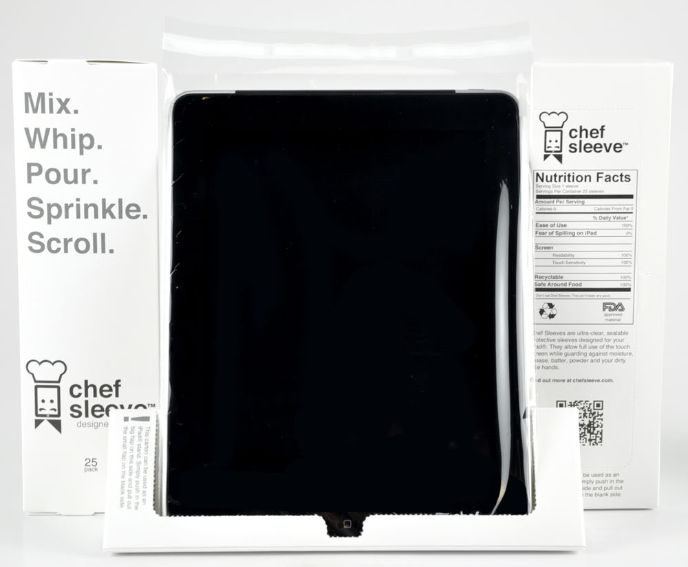 Protect your iPad from the elements. Of cooking