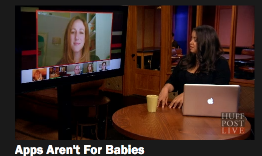 Are babies too young for apps? A discussion parents need to have.