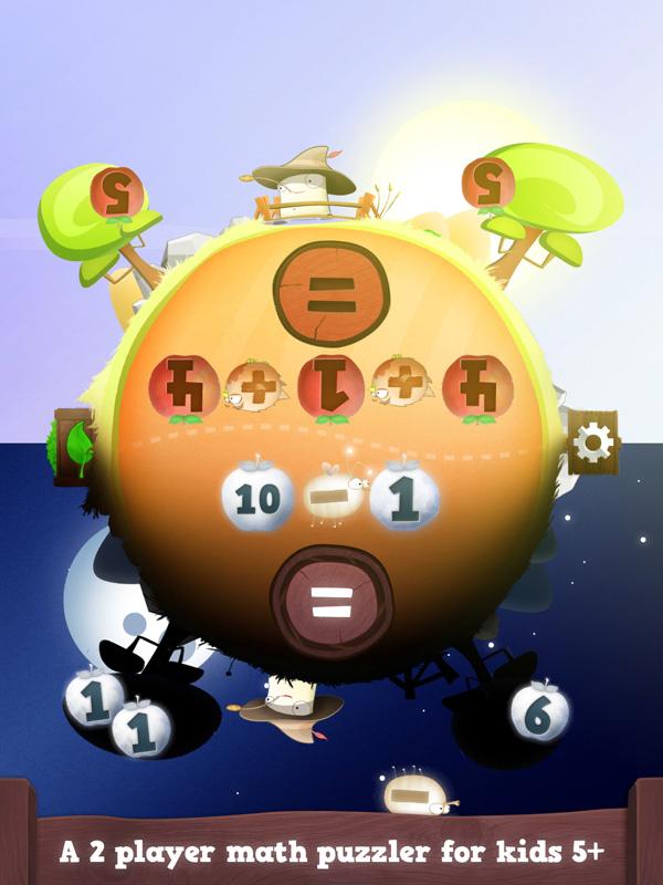 A cool iPad app that keep math fresh for kids