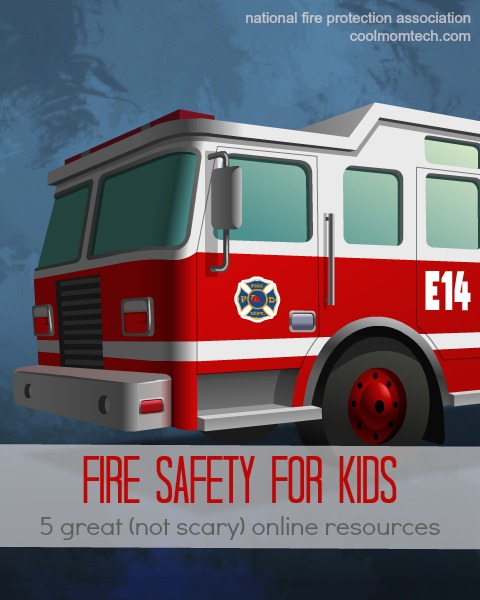 The best fire safety tips for kids: 5 great online resources