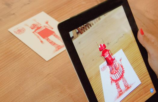 Piquing Our Geek: Augmented reality greeting cards