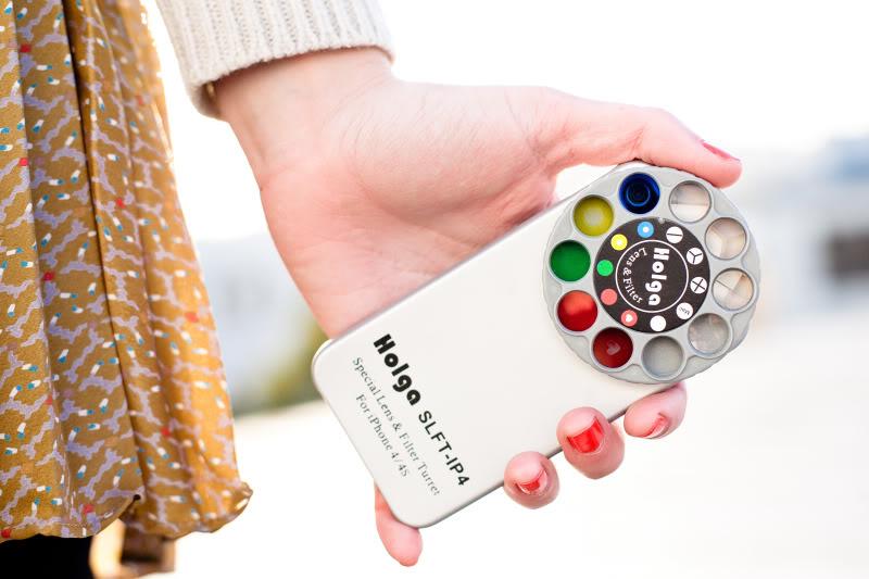 Holga phone! We've got some cool news. (Ha.)