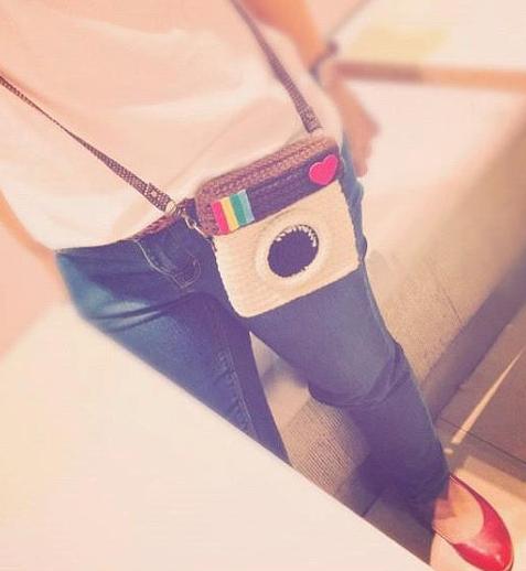 Show your love of Instagram over your shoulder