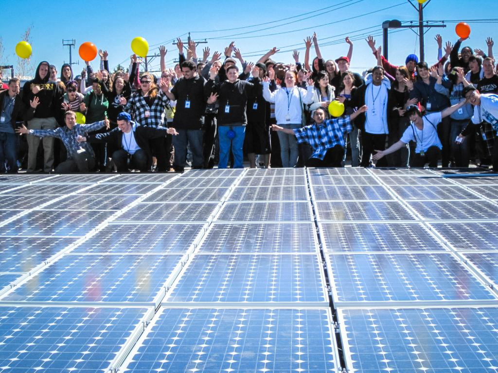 The Solar Schools Project: How you can help our schools without even selling gift wrap.