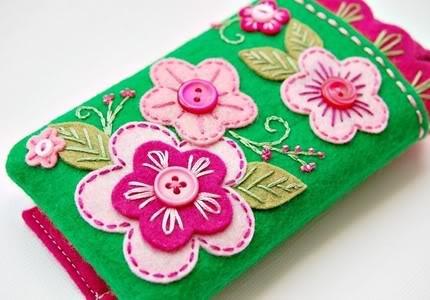 iPhone covers like Grandma made.