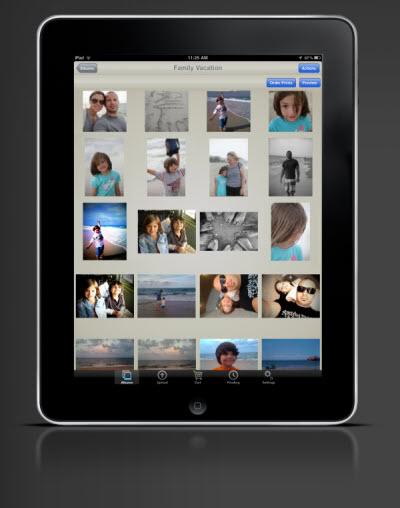 What's easier than ordering photo prints from your computer? Doing it from your phone or tablet.
