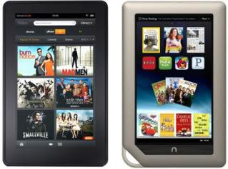 NOOK Tablet vs. Kindle Fire – A tablet smackdown