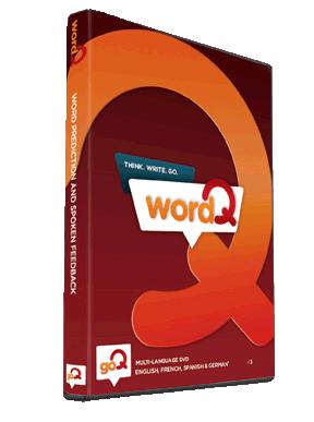 WordQ makes writing easier