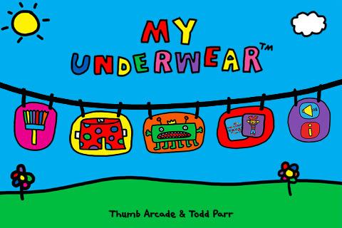 The joy of underwear