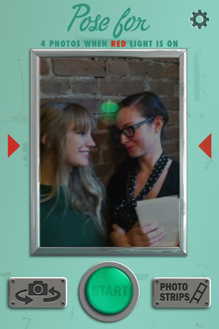 The ye olde time-y photobooth goes digital