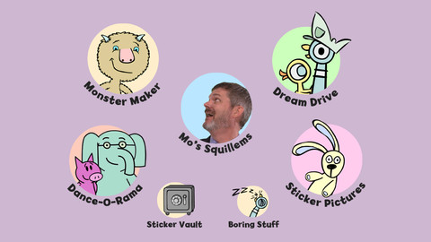 "Draw (and dance) with Mo Willems in ""Mo on the Go!"""