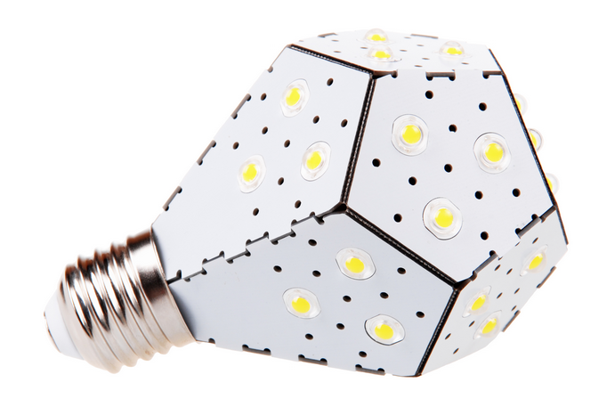 The safer, smarter future of light bulbs is here: The NanoLeaf LED light