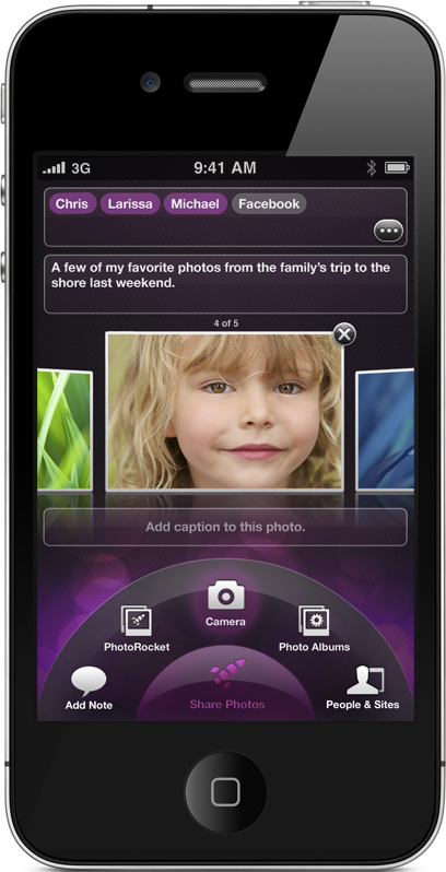 PhotoRocket: Photo sharing doesn't get any easier than this